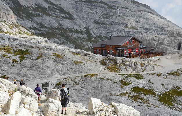 Büllelejochhütte - ein Cappucino