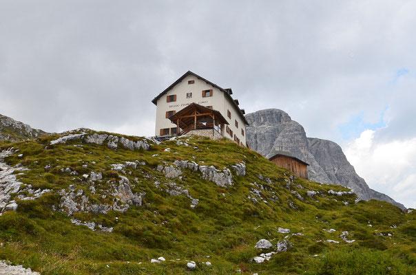 Das wäre unsere Übernachtungsmöglichkeit gewesen - Zsigmondyhütte