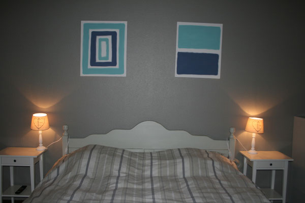 Chambre 1 rez (1 lit double)
