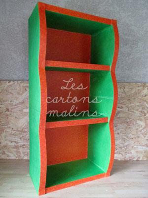 Étagère - Les cartons Malins