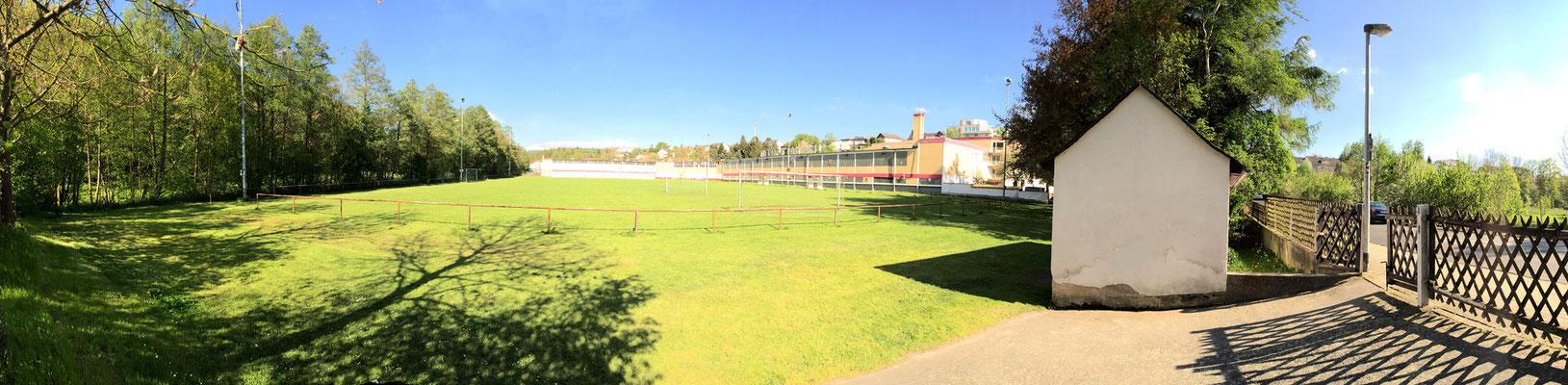 Panorama der Anlage
