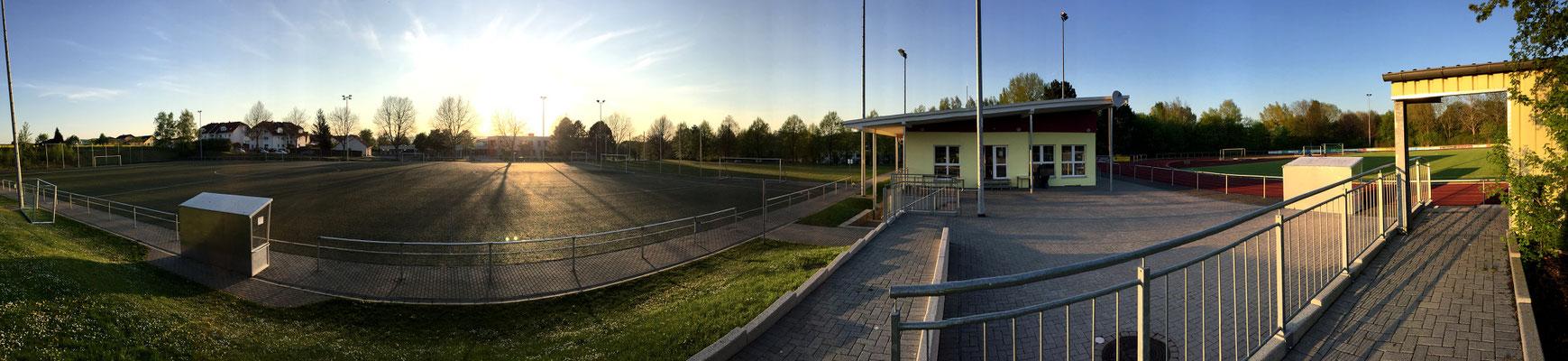Panorama der Stadionanlage