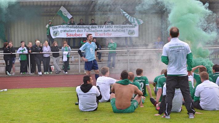 Herzlichen Dank an die Abteilung Handball für die hervorragende Unterstützung!