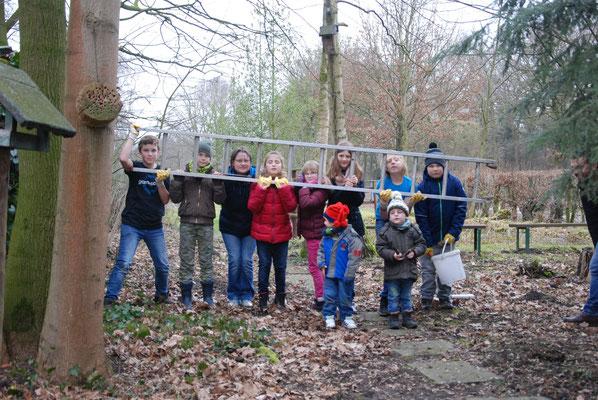 Die Kindergruppe - zu Taten bereit