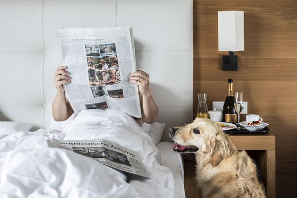 Urlaub mit Hund Vinschgerhof