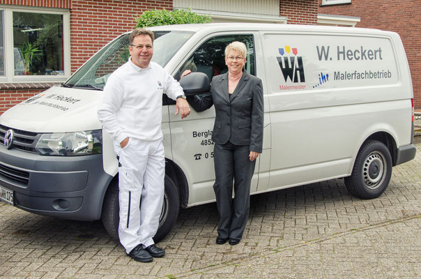 Heike und Wolfgang Heckert