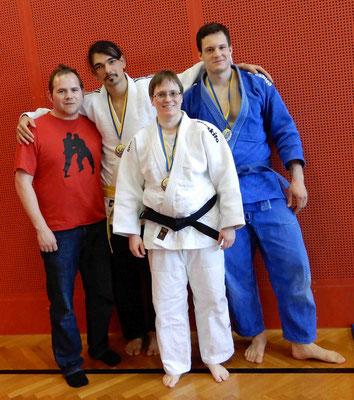 Markus Betz, Sayed Javad Husseini, Christian Anzböck und Diana Berner