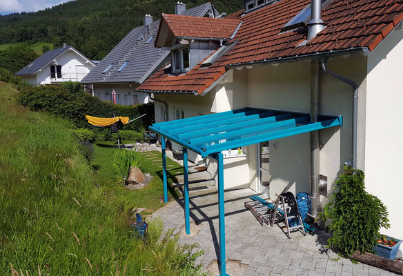 Terrassendach Aluminium Oberprechtal