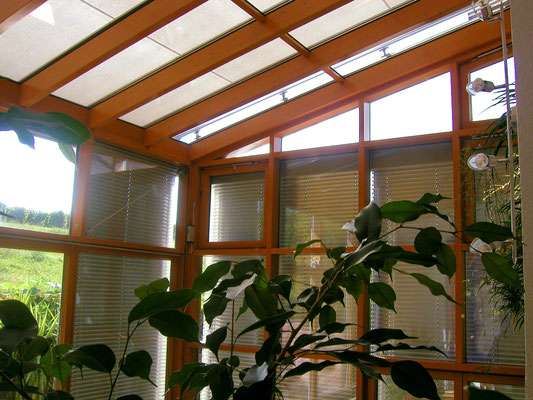 Wintergarten Holz Aluminium Affental