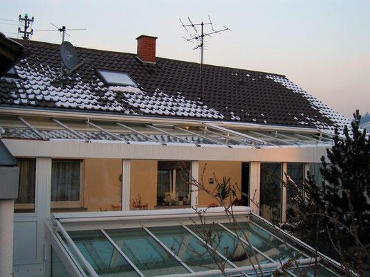 Wintergarten Aluminium Eisental