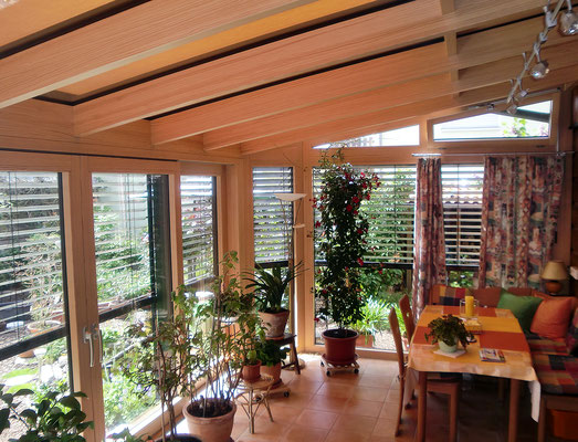 Wintergarten Holz Aluminium Auggen