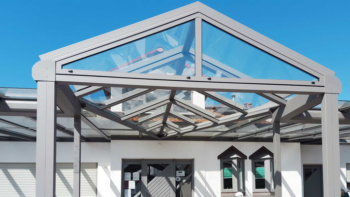 Terrassendach Aluminium Ottenau