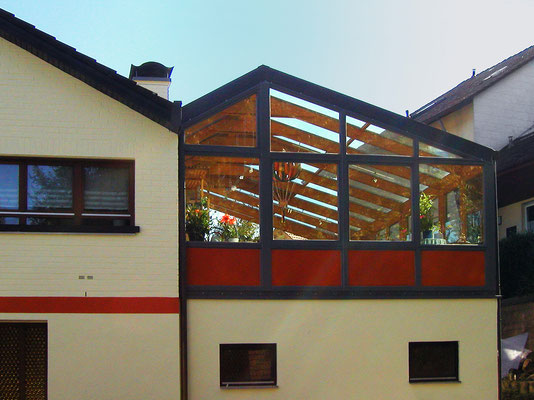 Wintergarten Holz Aluminium Hummel Zell-Weierbach