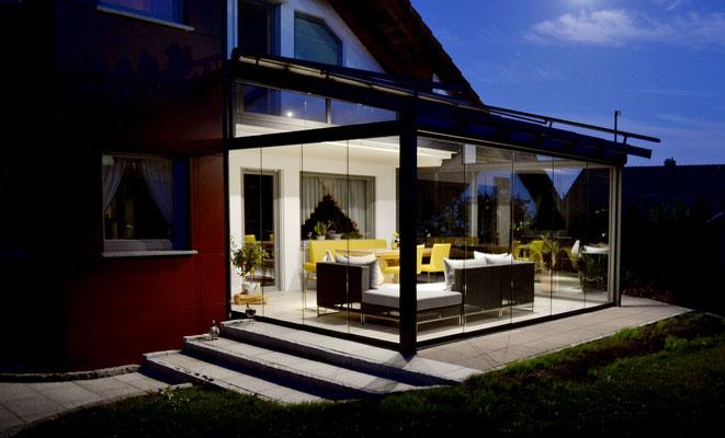 Terrassendach Aluminium Aichhalden
