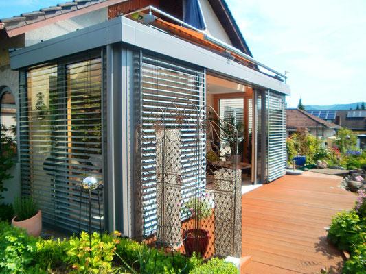 Wintergarten Holz Aluminium Oberkirch