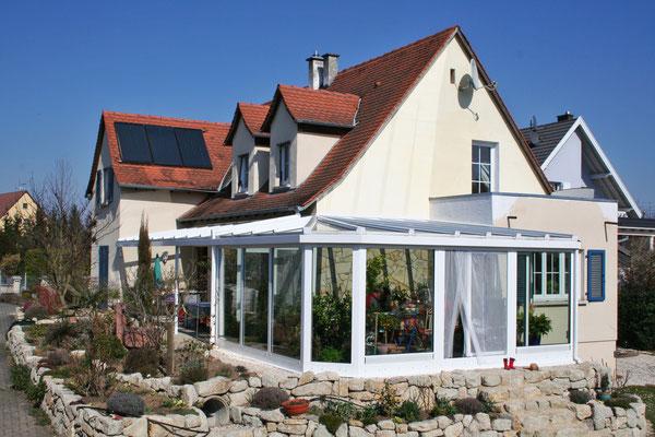 Wintergarten bei Frankreich