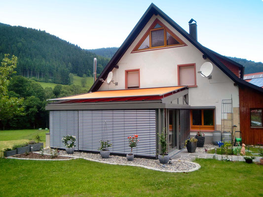 Wintergarten Holz Aluminium Elzach
