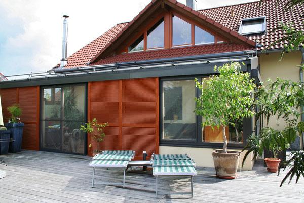 Wintergarten Holz Aluminium Ichenheim