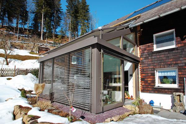 Wintergarten Holz Aluminium St. Märgen