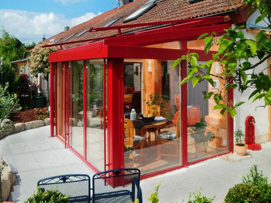 Wintergarten Holz Aluminium Neuenburg