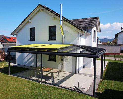 Terrassendach Aluminium Tunsel