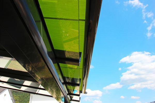 Detail Dachvorsprung
