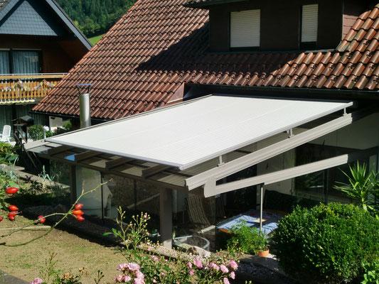 Terassendach Aluminium Hausach