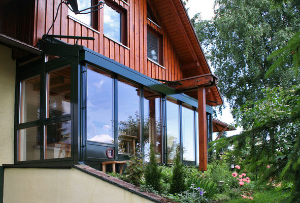 Wintergarten Holz Aluminium Bräunlingen