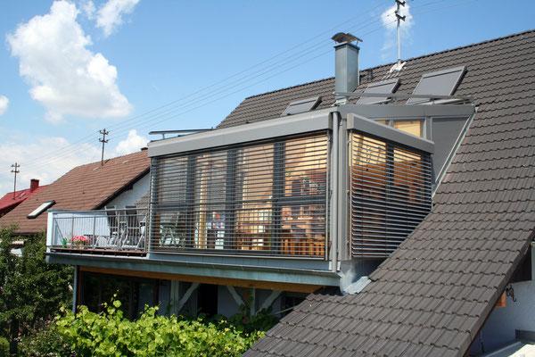 Wintergarten Holz Aluminium Ottersdorf
