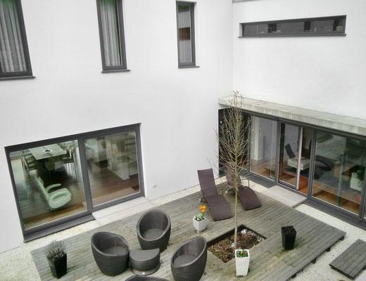 Fenster Holz Aluminium und Haustür Haslach