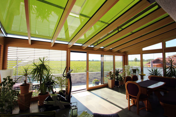 Wintergarten Holz Aluminium Bremgarten