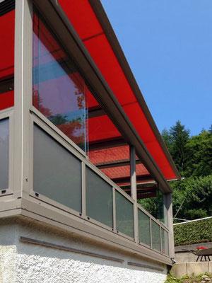 Terrassendach Aluminium Hornberg