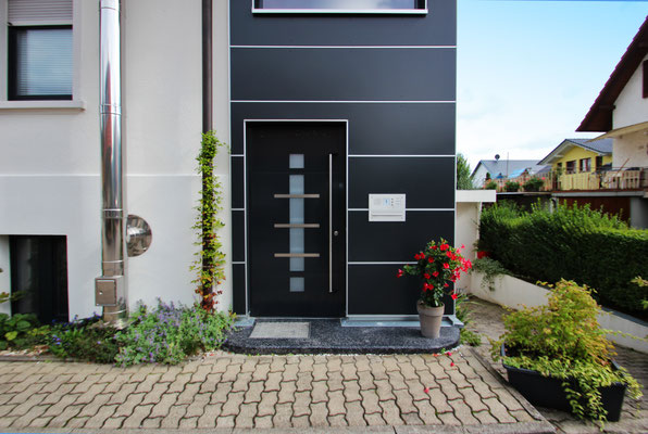 Haustür Fenster Holz-Aluminium Haslach