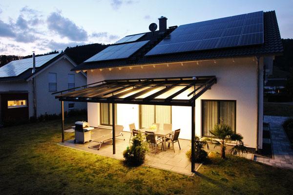 Terrassendach Aluminium Hausach
