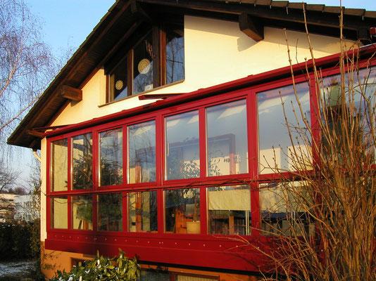 Wintergarten Holz Alu Offenburg