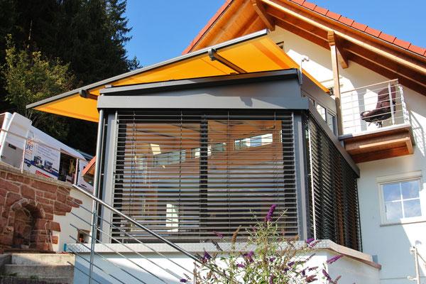Wintergarten Holz Aluminium Tennenbronn