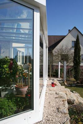 Wintergarten Aluminium Frankreich