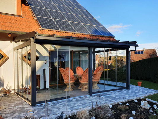 Terrassendach Aluminium Tannheim