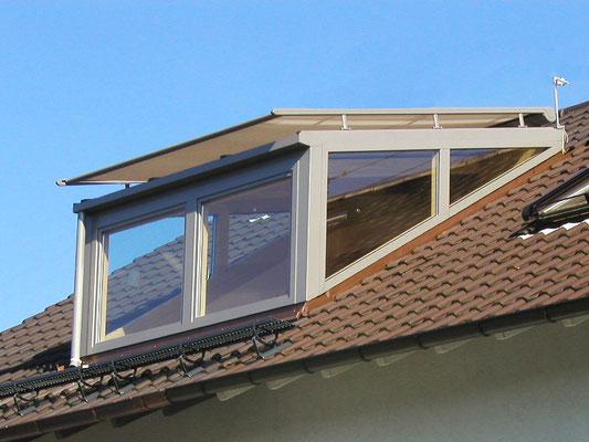 Dachgaube Holz Aluminium Baden-Baden