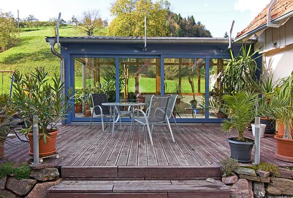 Wintergarten Holz Aluminium Oberharmersbach