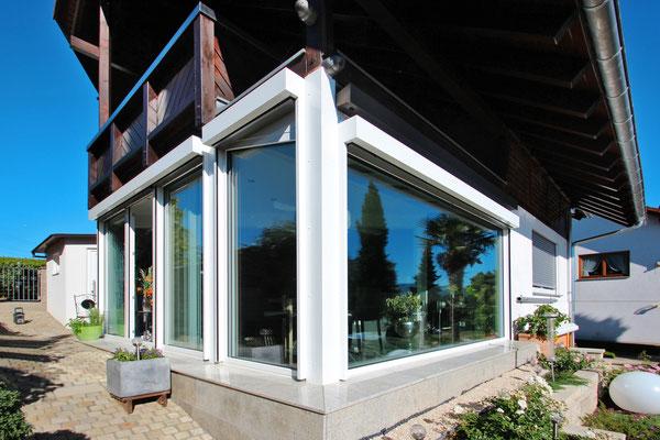 Wintergarten Holz Aluminium Heitersheim