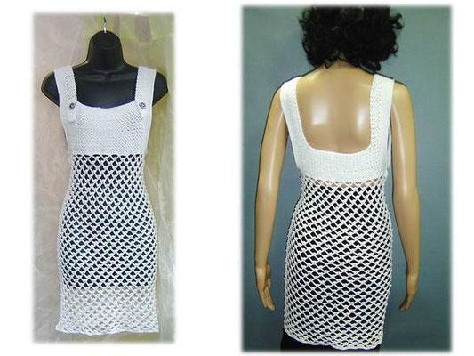 "Häkel-Longshirt/Kleid ""Romina"""