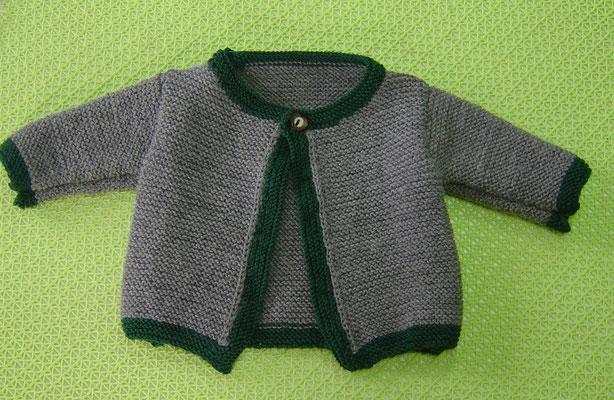 Baby-Trachtenstrickjacke Gr. 50/56