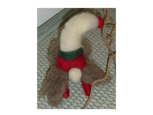 (Weihnachts-)Wichtel - nadelgefilzt