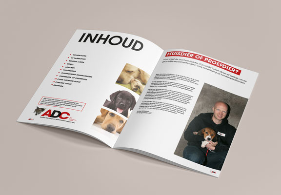 Anti-Dierproeven Coalitie - campaign brochure - inside