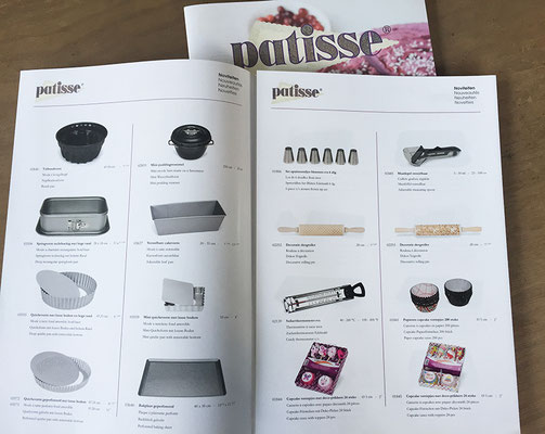 Patisse bakeware catalog - inside impression
