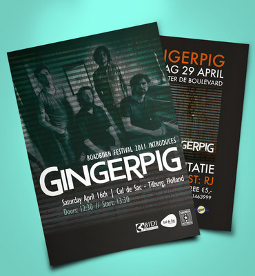 Gingerpig flyer