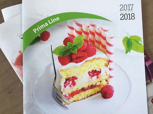 Prima Line bakeware catalog - front cover