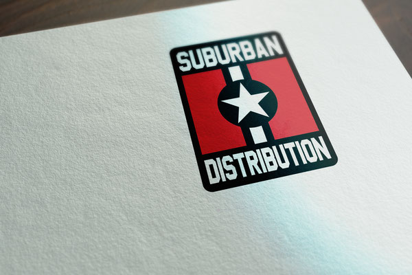 Suburban Distribution logo used from 2009 to 2016