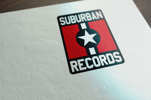 Suburban Records logo used from 2009 to 2016